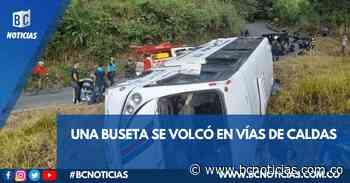 Seis lesionados deja accidente de tránsito entre Belalcázar y Arauca - BC Noticias