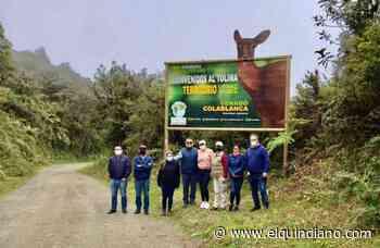 Recorrido por parajes de Salento-Toche-Machín-Cajamarca, adelantaron integrantes de la Rap Eje Cafetero y Tolima - El Quindiano S.A.S.