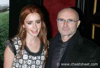 Lily Collins Said Her Dad Phil Collins Wrote This Award-Winning Song for Her - Showbiz Cheat Sheet