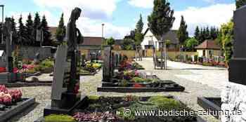 Neue Bestattungsformen in Hartheim - Hartheim - Badische Zeitung