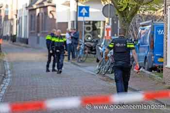 Melding van schietincident in Muiden, gebied met lint afgezet - De Gooi- en Eemlander