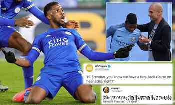 City fans call for club to activate £50m buy-back clause in Iheanacho's contract - but it's expired
