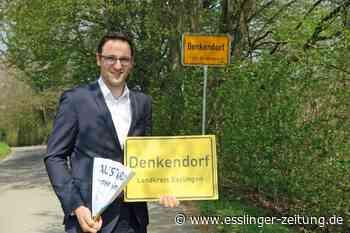 Schilderdiebstahl in Denkendorf: Klatschpappen statt Ortsschilder - esslinger-zeitung.de