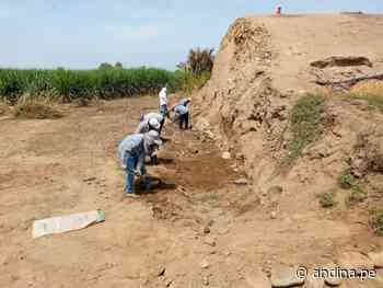 La Libertad: inician trabajos en huaca donde hallaron pintura de hace 3200 años - Agencia Andina