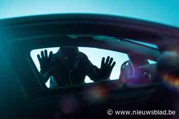 Mannen stelen auto tijdens korte onoplettendheid van bestuurder en vluchten naar Frankrijk