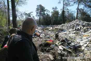 Oise : à Orry-la-Ville, on se mobilise contre la décharge sauvage - Le Parisien