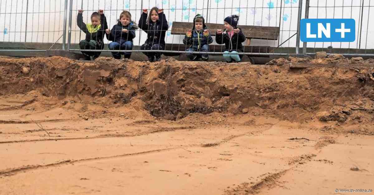 Wahlstedt: Neubau der Kindertagesstätte Kronsheide hat begonnen - Lübecker Nachrichten