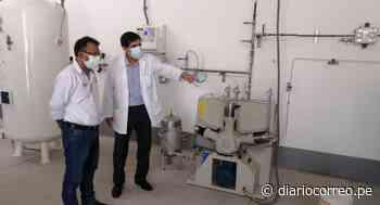 Garantizan abastecimiento de oxígeno con planta entregada por el Minsa en Chepén - Diario Correo