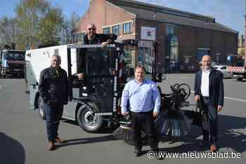 Stad investeert 154.000 euro in extra veegmachine