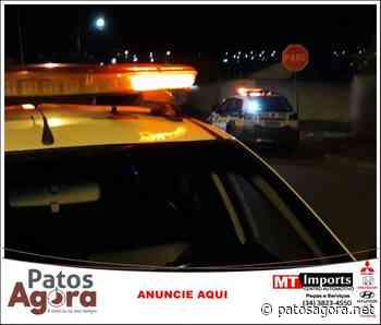 PM de Monte Carmelo é acionada em confraternização e prende homem - Patos Agora