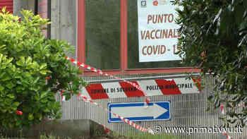 """Solofra. Centro vaccinale ancora uno stop, l'amarezza del sindaco: """"Bisogna accelerare"""" - Prima Tivvù"""