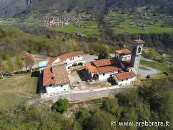 SOVERE - Santuario, viale, muro e acciottolato rimessi a nuovo. Chiesa di nuovo aperta tutto il giorno - Araberara