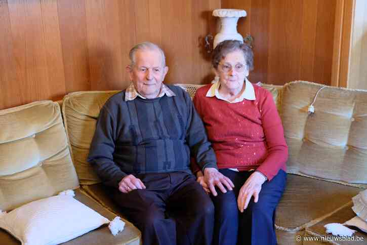 Frans en Bernardine vieren 75ste huwelijksverjaardag