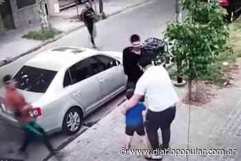 Villa Ballester: le roban el auto frente al hijo de 6 años - Popular