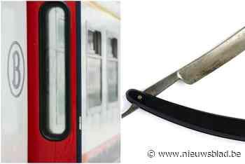 """Zes jongeren overvallen Elias (19) op de trein: """"Plots kreeg ik een barbiermes op mijn keel"""""""