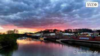 Sonnenuntergang: Atemberaubendes in Boizenburg   svz.de - svz – Schweriner Volkszeitung