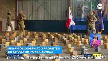 Decomisan 700 paquetes de droga en Punta Burica - TVN Noticias