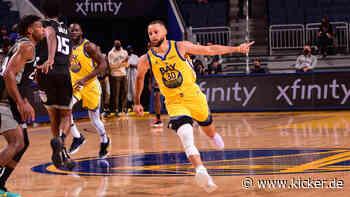 85 Curry-Dreier - Wizards-Serie bei acht - Durant glänzt gegen Suns - kicker
