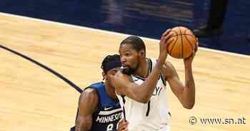 Brooklyns NBA-Topspieler Kevin Durant erneut verletzt - Salzburger Nachrichten