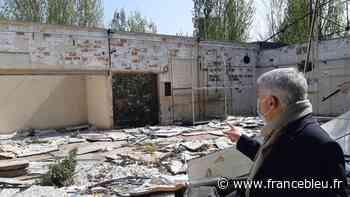 EN IMAGES - A Beaugency, les derniers vestiges des usines Treca seront détruits - France Bleu