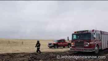 Bow Island Fire Department battles weekend grass fire - Lethbridge News Now