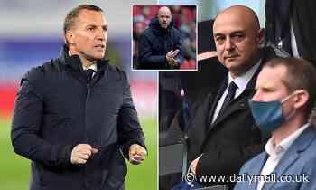 Tottenham fail in fresh bid to lure Brendan Rodgers to White Hart Lane