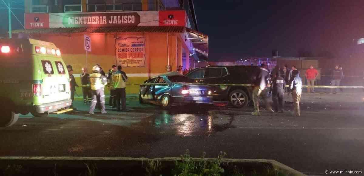 Choque en el municipio de San Mateo Atenco deja tres muertos - Milenio