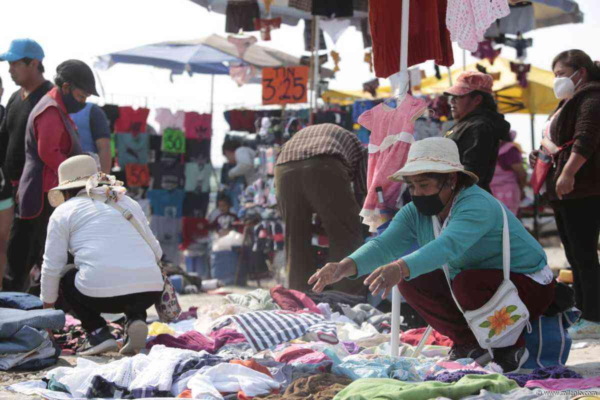 Indígenas inauguran Tianguis Tradicional en San Mateo Otzacatipan, Estado de México - Milenio