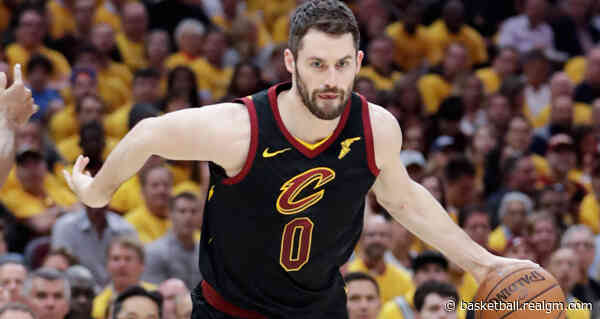 Kevin Love Apologizes For 'Unacceptable' Behavior