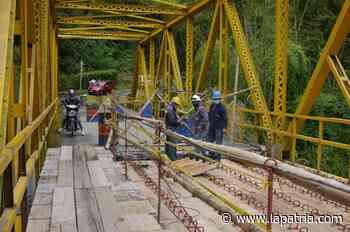 Por dos días permanecerá cerrado el puente La Ínsula (Chinchiná) - La Patria.com