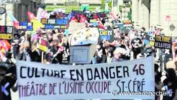 """""""La Convergence des flûtes"""" en manifestation à Tulle, les occupants du théâtre de Saint-Céré mobilisés - ladepeche.fr"""