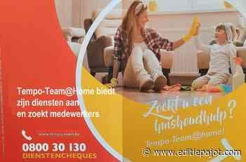 BEVER/HERNE/GALMAARDEN – Tempo-Team@Home biedt zijn diensten aan en zoekt medewerkers - Editiepajot