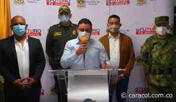 Sonsón reforzará la seguridad con 18 policías, el Ejército e investigadores - Caracol Radio