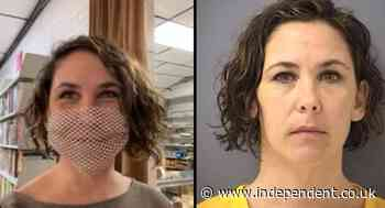 Capitol riot suspect says her mesh mask, which may violate court order, is inspired by Lana Del Rey