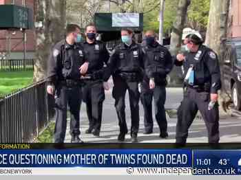 New York mother accused of  killing her six-week-old twins