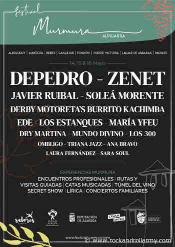 Nace Festival Murmura en la Alpujarra almeriense - Rock And Roll Army Magazine