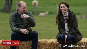 William and Kate make hands-on visit to County Durham farm