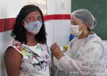 Duas comunidades quilombolas de Aracati reivindicam vacinação contra a Covid-19 - O POVO