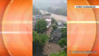 Desbordamiento de la quebrada La Desmotadora causó nuevamente afectaciones en Dabeiba - Telemedellín