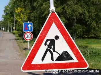 Straßensperrung in Guben. Bauarbeiten in der Gewerbestraße - Niederlausitz Aktuell - NIEDERLAUSITZ aktuell