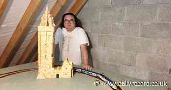 Former Bannockburn man builds model of iconic Wallace Monument in lockdown - Daily Record