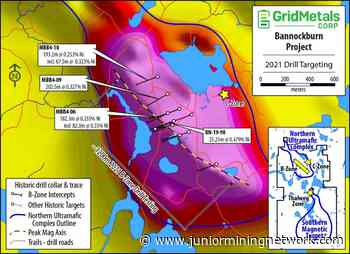 Grid Metals Commences Drilling at Bannockburn Nickel Project - Junior Mining Network