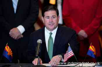 Arizona governor signs abortion ban for genetic issues