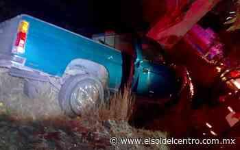 Mortal accidente rumbo a Calvillo - El Sol del Centro