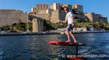 Calvi : un 1er record du monde en foil électrique - Corse-Matin