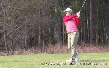 Reigning UP Boys Champion Bryson Mercier begins high school golf season with a second place finish - UpperMichigansSource.com