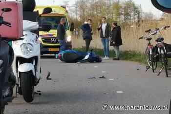 Schade bij ongeval met scooter, CG Roosweg - N210 Krimpen aan de Lek - Hardnieuws