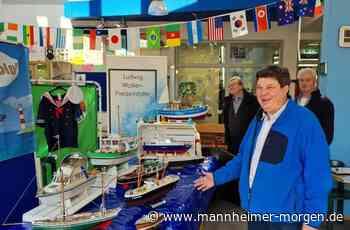 Hobbybastler verschenkt Modellschiffe - Ludwigshafen - Nachrichten und Informationen - Mannheimer Morgen