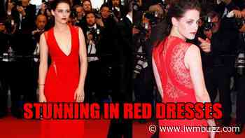 3 Times Kristen Stewart Showed Us How To Slay In Red Dresses - IWMBuzz