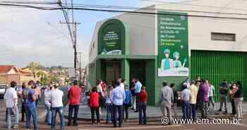 Unidade de saúde de Frutal começa a funcionar uma semana após inauguração - Estado de Minas